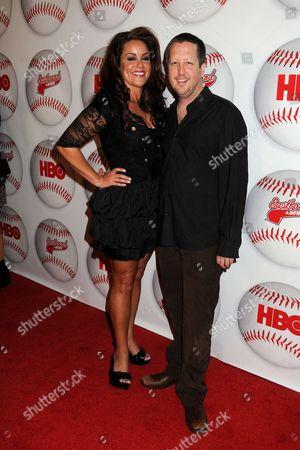 Katy Mixon and Steve Little
