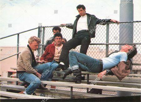 Grease,  Kelly Ward,  Michael Tucci,  Barry Pearl,  John Travolta,  Jeff Conaway