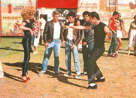Grease,  Olivia Newton-john,  Kelly Ward,  Barry Pearl,  Michael Tucci,  John Travolta