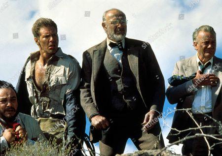 Indiana Jones And The Last Crusade,  Harrison Ford,  Sean Connery,  Denholm Elliott