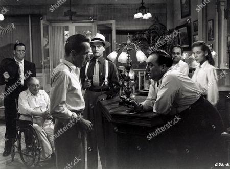 Key Largo,  Lionel Barrymore,  Humphrey Bogart,  Lauren Bacall