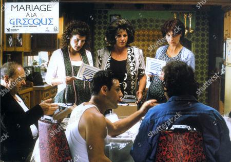My Big Fat Greek Wedding,  Nia Vardalos,  Lainie Kazan,  Michael Constantine,  John Corbett