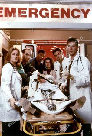 Er ,  Sherry Stringfield,  Anthony Edwards,  Eriq La Salle,  Julianna Margulies,  George Clooney,  Noah Wyle