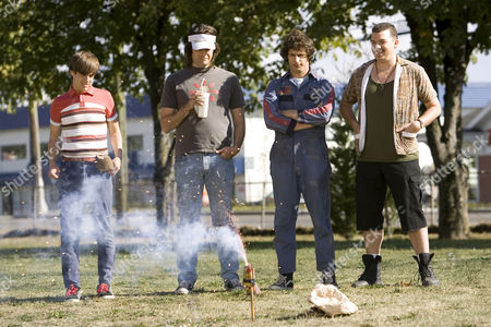 Stock Photo of Hot Rod,  Andy Samberg,  Kevin Powell,  Bill Hader,  Danny Mcbride