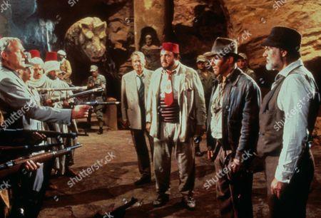 Indiana Jones And The Last Crusade,  Denholm Elliott,  John Rhys-davies,  Harrison Ford,  Sean Connery