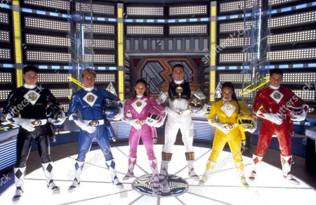 Mighty Morphin Power Rangers: The Movie,  Johnny Young Bosch,  David Yost,  Amy Jo Johnson,  Jason David Frank,  Karan Ashley,  Steve Cardenas