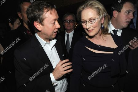Stock Picture of Geordie Grieg and Meryl Streep