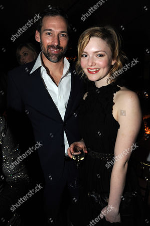 Editorial photo of Chanel and Charles Finch pre-BAFTA party at Annabel's, London, Britain - 11 Feb 2012