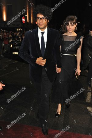 Richard Ayoade and and Lydia Fox