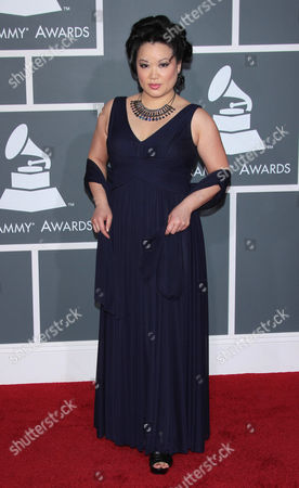 Editorial picture of 54th Annual Grammy Awards, Arrivals, Los Angeles, America - 12 Feb 2012