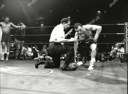 Tony Sibson V Frank Tate Middleweight Title Fight Bingley Hall Stafford; Tate Was Winner 1988.