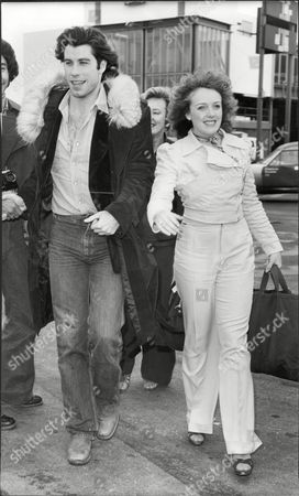 Actor John Travolta And Actress Kate Edwards.