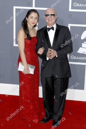 Paul Shaffer and daughter Victoria Lily Shaffer