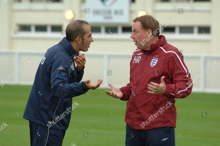Paulo Di Canio and Harry Redknapp