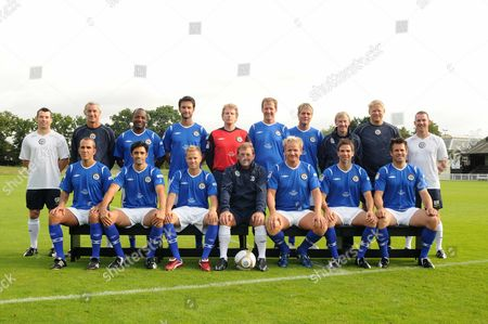 Editorial picture of 'Soccer Aid' TV programme, Britain - Sep 2008