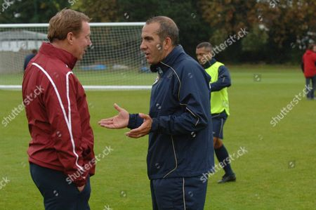 Harry Redknapp and  Paulo Di Canio