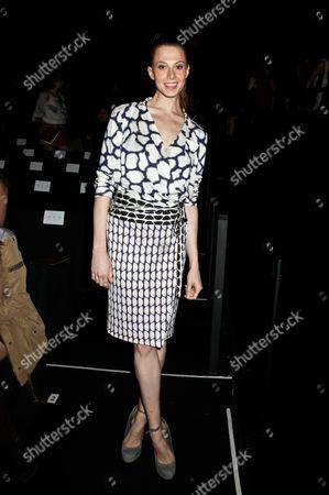 Editorial image of Diane Von Furstenberg show, Fall 2012 Mercedes-Benz Fashion Week, New York, America - 12 Feb 2012