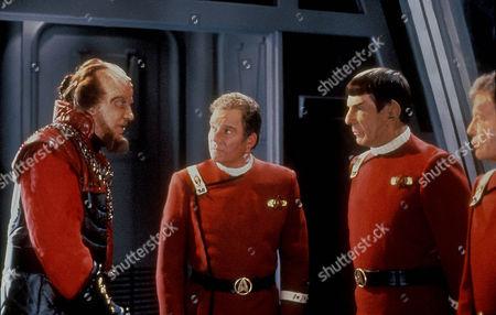 Star Trek Vi: The Undiscovered Country,  David Warner,  William Shatner,  Leonard Nimoy,  Deforest Kelley