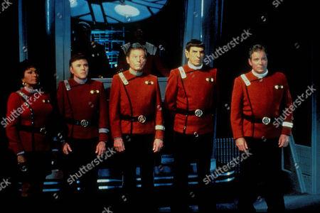 Star Trek Vi: The Undiscovered Country,  Nichelle Nichols,  Walter Koenig,  Deforest Kelley,  Leonard Nimoy,  William Shatner
