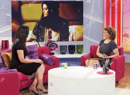 Whitney Thompson and Nadia Sawalha