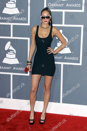 Editorial photo of 54th Annual Grammy Awards, Arrivals, Los Angeles, America - 12 Feb 2012