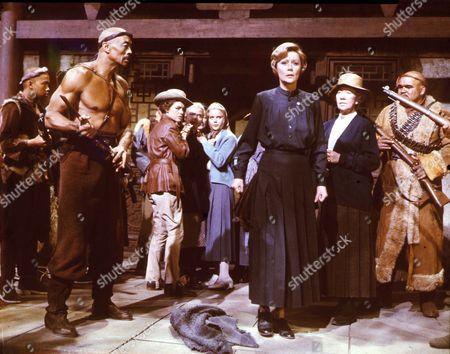 Seven Women,  Woody Strode,  Anne Bancroft,  Sue Lyon,  Margaret Leighton,  Flora Robson