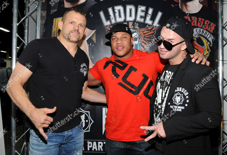 Chuck Liddell, Mr. Olympia Phil Heath, and Mike Sorrentino