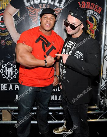Mr. Olympia Phil Heath and Mike Sorrentino