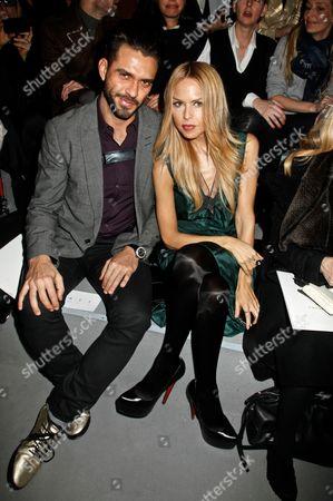 Lorenzo Martone and Rachel Zoe