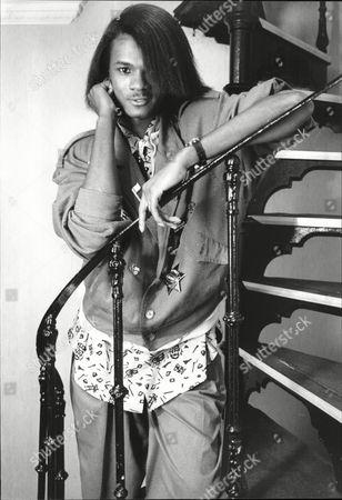 Pop Singer Jermaine Stewart In London