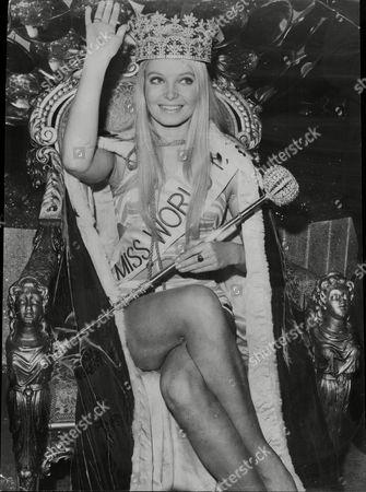 The 1969 Miss World Winner Miss Austria Eva Rueber-staier