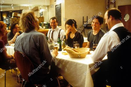 Notting Hill,  Emma Chambers,  Rhys Ifans,  Hugh Bonneville,  Gina Mckee,  Hugh Grant,  Tim Mcinnerny