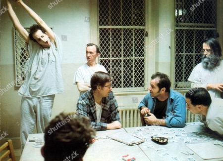 One Flew Over The Cuckoo's Nest,  Vincent Schiavelli,  William Duell,  William Redfield,  Jack Nicholson,  Danny Devito,  Delos Smith Jr