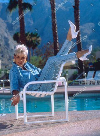 Editorial image of RUTH MCCARTNEY, HALF SISTER OF PAUL - 1989
