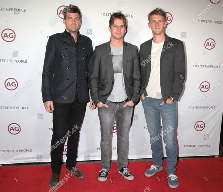 Foster The People - Cubbie Fink, Mark Foster and Mark Pontius