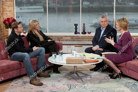 Adam Astill and Tina Hobley with Eamonn Holmes and Ruth Langsford
