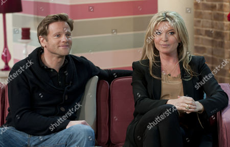 Adam Astill and Tina Hobley