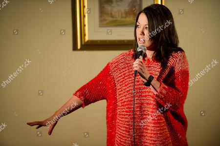 Stock Photo of Comedian Danielle Ward