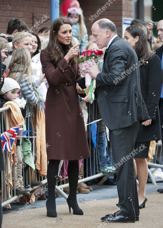 Catherine Duchess of Cambridge and Jamie Lowther-Pinkerton