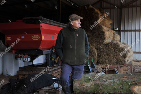 Editorial image of Major Ranulf Rayner, British farming and food campaigner - 01 Feb 2012
