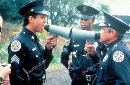 Police Academy 4: Citizen's On Patrol,  Steve Guttenberg,  Michael Winslow,  G W Bailey