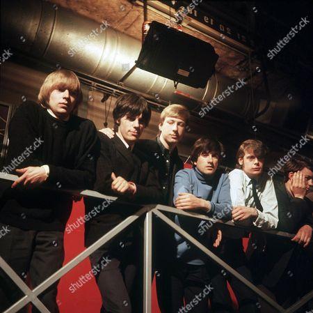 The Yardbirds - Keith Relf, Jeff Beck, Chris Dreja, Jim McCarty and Paul Samwell-Smith