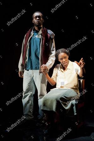 Cardboard Citizens present 'A Few Man Fridays' - Ansu Kabia as Propsper and Sharon Duncan-Brewster as Madame Talate