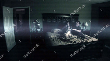 Paranormal Activity,  Katie Featherston,  Micah Sloat