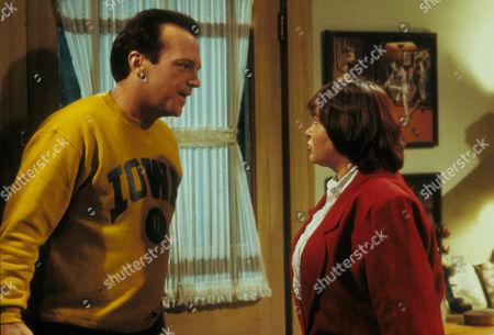 Roseanne ,  Tom Arnold,  Roseanne Barr