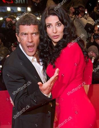 Antonio Banderas and Natascha Berg