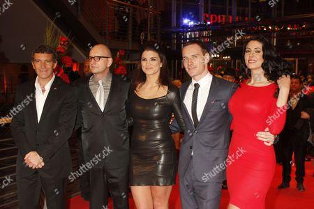 Antonio Banderas, Steven Soderbergh, Gina Carano, Michael Fassbender, Natascha Berg