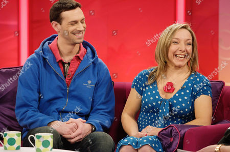 Editorial picture of 'Lorraine Live' TV Programme, London, Britain - 16 Feb 2012