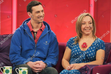 Editorial image of 'Lorraine Live' TV Programme, London, Britain - 16 Feb 2012