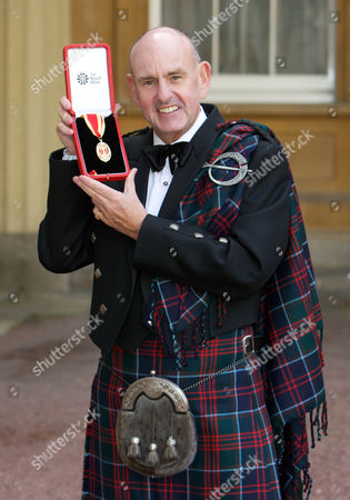 Sir Charles Allen receives a Knighthood for services to the 2012 Olympics and Paralympics